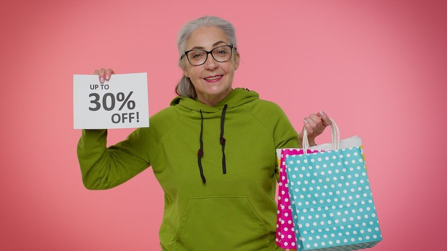 Senior Discounts for those over 55+